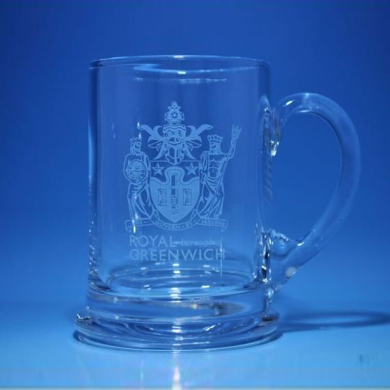 Royal Scot Crystal Real Ale Pint Tankard