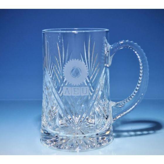 Dartington Glass Beer Tankards