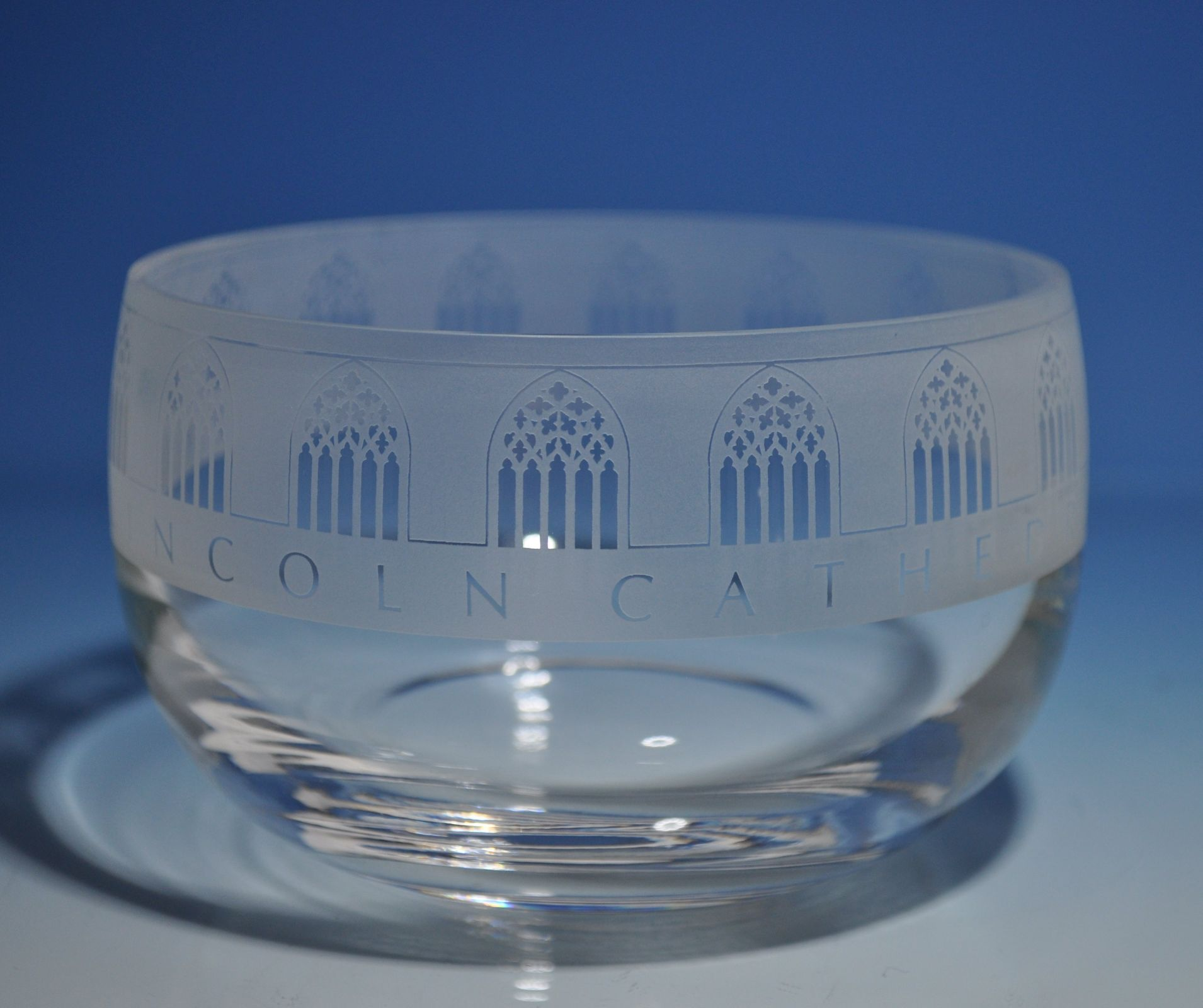Bowls vases plates product categories michael virden glass small plain crystal glass bowl floridaeventfo Gallery