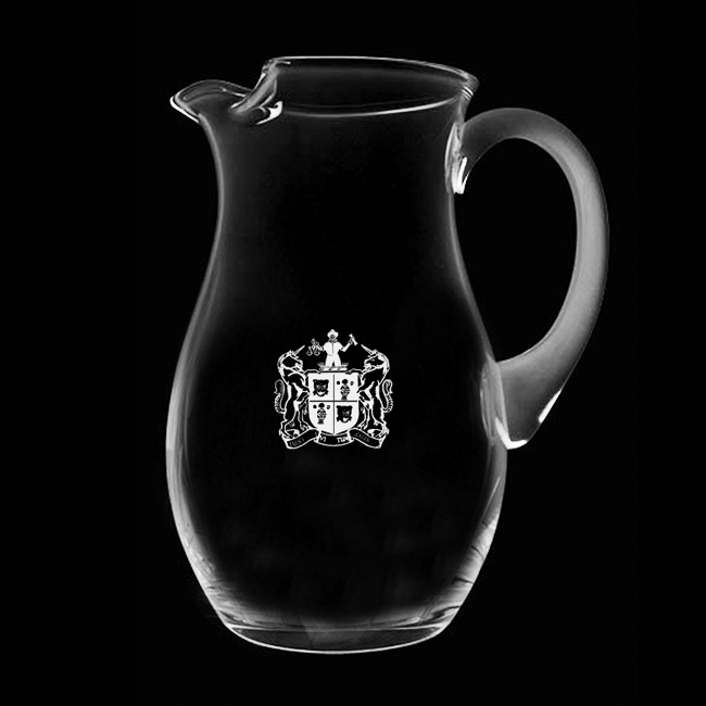 Royal Scot Crystal – Large Ice Lip Jug (2 litre)