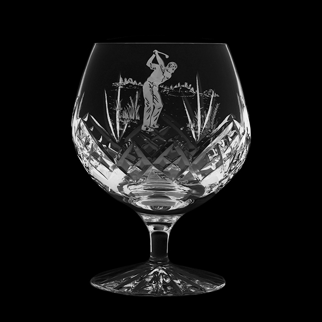 Royal Scot Crystal Highland brandy glass