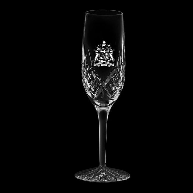 Royal Scot Crystal Highland Flute Champagne