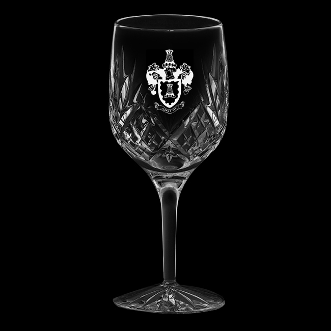 Royal Scot Crystal Highland goblet / large wine glass