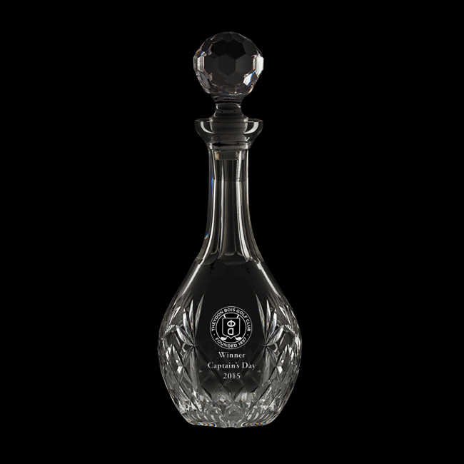 Royal Scot Crystal – 'Kintyre' Wine Decanter