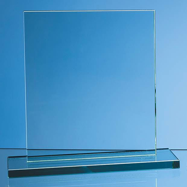 Jade Glass Rectangle Award (large)