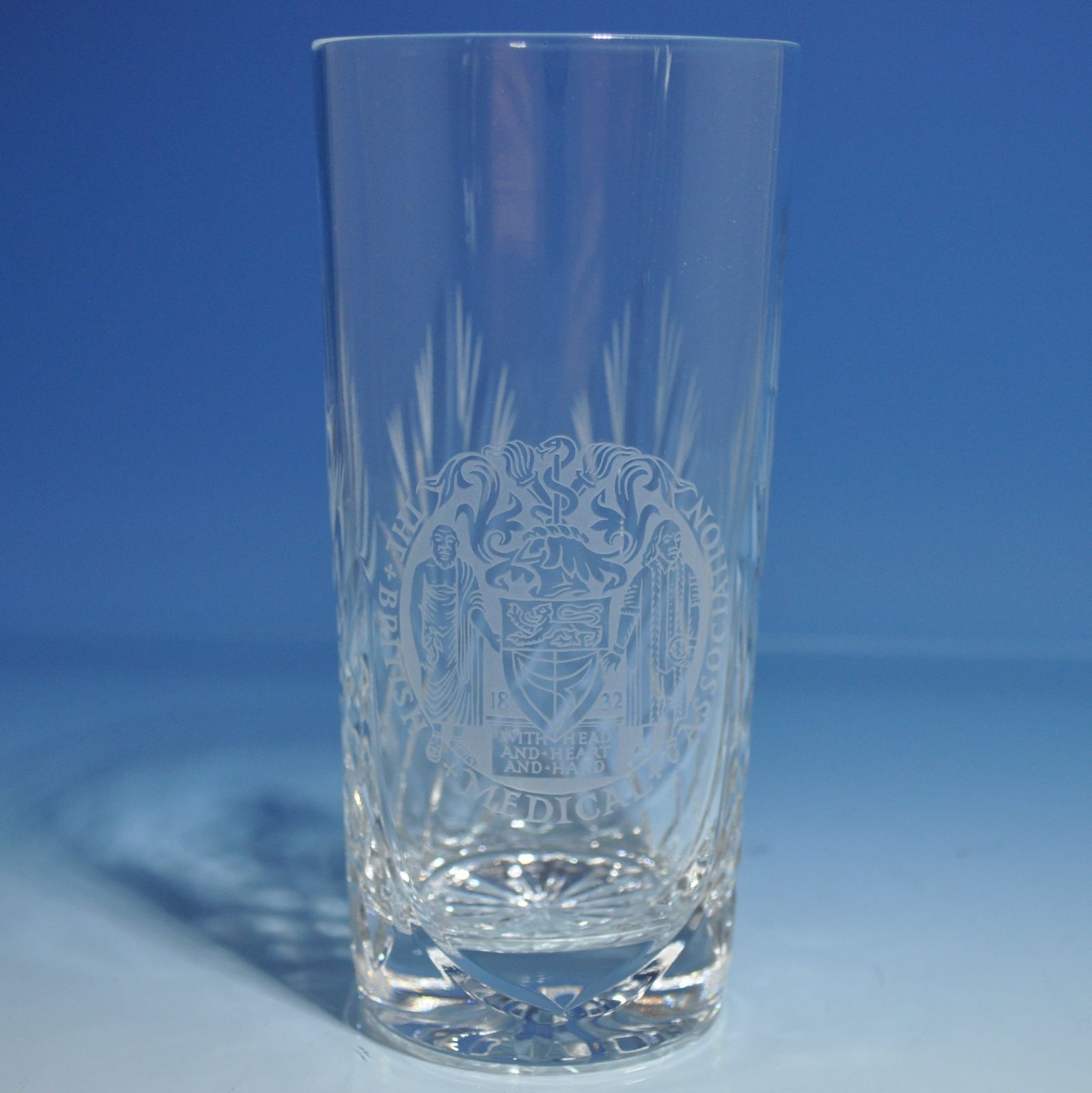 Cut Crystal With Engraving Panel Product Categories